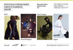 estonian designers at mercedes–benz kiev fashion days, 1–5.02