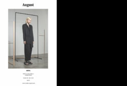 august's ss19 collection will be at berg during paris fashion week