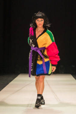kristel kuslapuu won the coveted golden needle award at tallinn fashion week